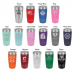 Powder Coated Tumblers 12oz, 16oz, 20oz, 30oz(Flasks and Tumblers)