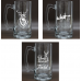 Engraved Glass 16oz Beer Mug(Flasks and Tumblers)