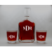 Personalized Whiskey Decanter(Flasks and Tumblers)