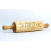 Personalized Maple Wood Rolling Pin