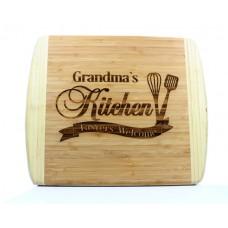 Grandma's Kitchen Bamboo Cutting Board