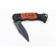 Personalized Small Black Pocket Knife