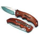 Personalized Rosewood Handle Pocket Knife