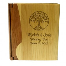 Combo Maple and Rosewood Photo Album