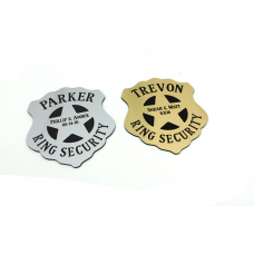 Personalized Ring Security Badge
