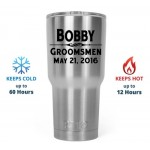 Personalized Stainless Steel Tumblers Wedding Party Gifts
