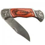 Deco Grip Pakkawood Knife